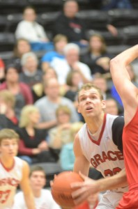 Senior Greg Miller had 13 points and six rebounds for the Lancers.