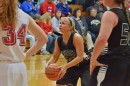 Kylee Rostochak led was 6-9 from the free throw line and led all scorers with 25 points.