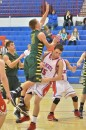 Wawasee's Aaron Voirol collides with Whitko's Roger Helblig in the second quarter of Tuesday night's game.