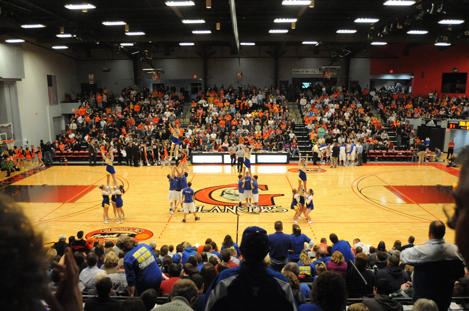 Triton and Warsaw fans will share the seats of the Orthopaedic Capital Center on the campus of Grace College on Jan. 4 when the girls basketball program square off. (File photo by Mike Deak)