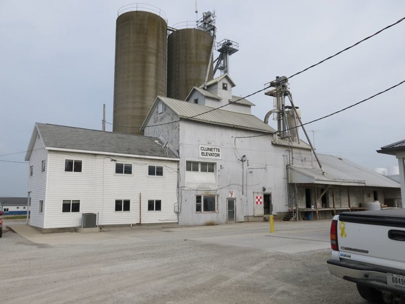 The Clunette Elevator, as it stood in 2013. (Photo provided)