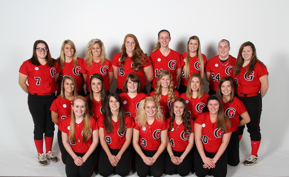 The Grace College softball  team has an experienced and deep roster for the 2014 campaign (Photo provided by Grace College Sports Information Department)