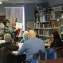 Beth Smith, director of the Local History and Genealogy Center, explains how to get started researching one's family history in her four-week Beginning Genealogy Class that started February 4. (Photo provided)