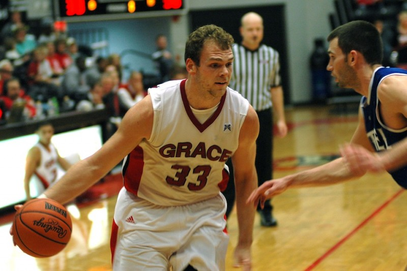 Grace College senior Greg Miller, who hails from Akron, has been honored as the NAIA National Player of the Week (Photo provided by Grace College Sports Information Department)
