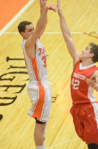 Warsaw senior Jordan Stookey will look to lead the defending champion Tigers into sectional play at Elkhart. Warsaw will face Goshen on March 4 to begin postseason play.
