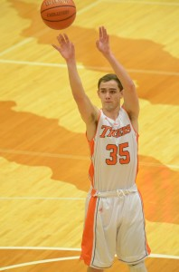 Jordan Stookey led the Tigers with 16 points in his final home game Friday night. Warsaw whipped Luers 73-46.