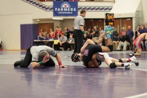 Kyle Hatch competes in the semi state last weekend at Merrillville (Photo provided by Scott Gareiss)
