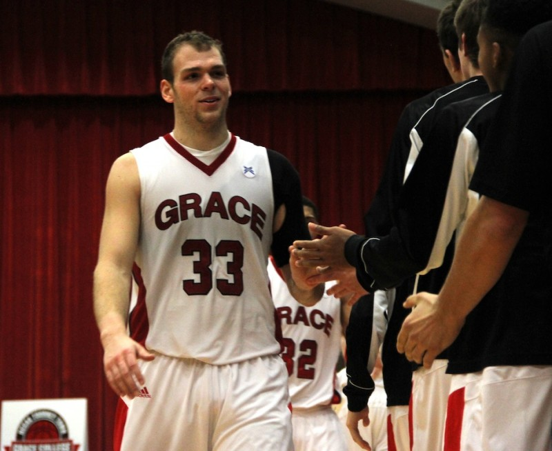 Grace College senior Greg Miller has earned Crossroads League Player of the Week honors for the third time this season (Photo provided by Grace College Sports Information Department)