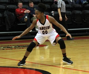 Micah Pollard had a strong game Saturday to help her Grace College squad win at Bethel (File photo provided by Grace College Sports Information Department)