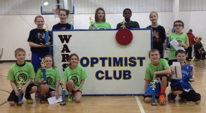 Basketball competition winners