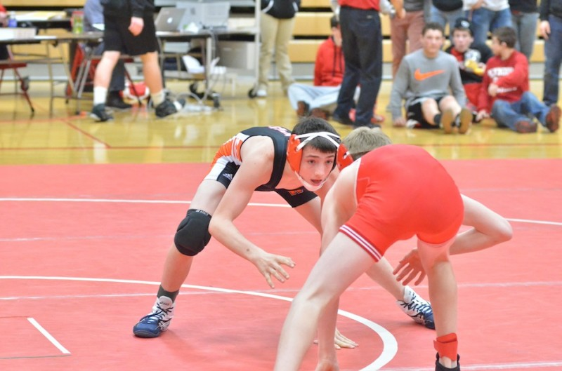 Warsaw freshman Kyle Hatch will compete Saturday in the Merrillville Semistate (File photo by Nick Goralczyk)