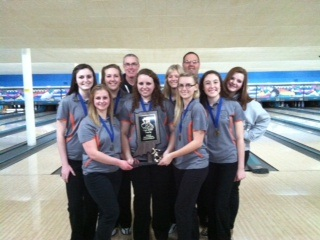The Warsaw girls bowling team is headed to semi state after placing second at the regional (Photo provided)