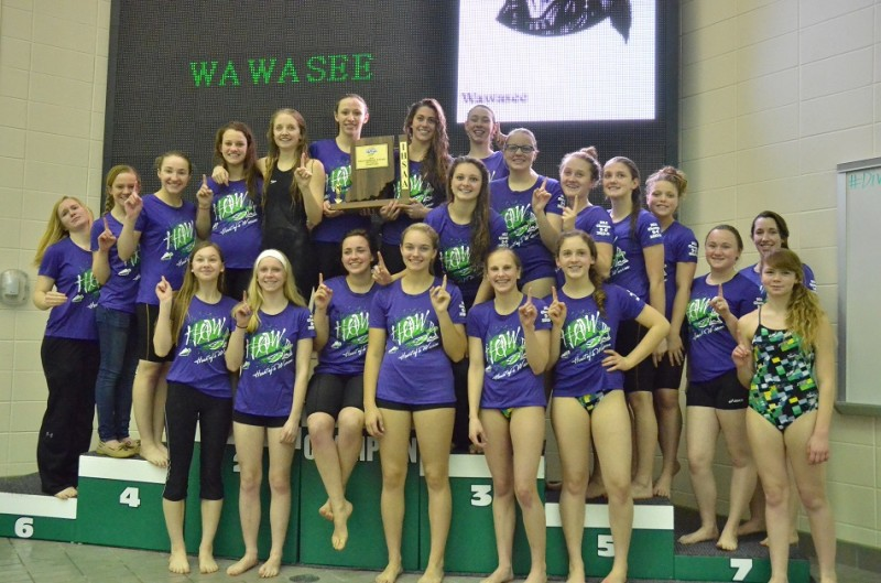 Wawasee won the 2014 Concord Sectional with a score of 410. It is the program's first sectional title since 1999. (Photos by Nick Goralczyk)