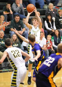 Wawasee junior Gage Reinhard has given his team a scoring boost as the season has progressed. (Photo by Mike Deak)