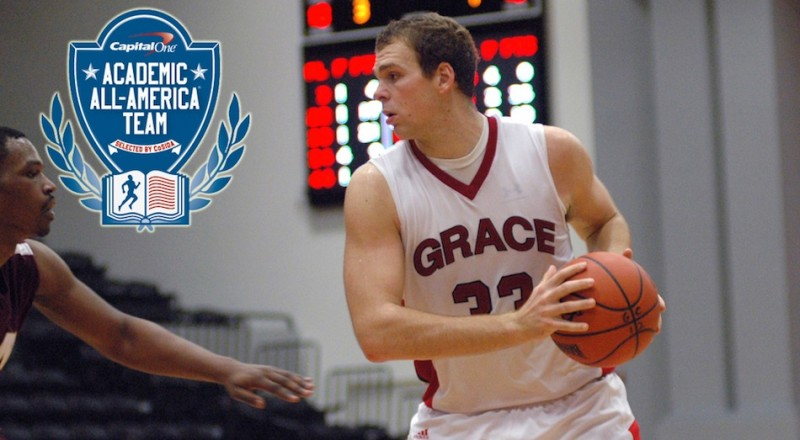 Grace College senior Greg Miller, a native of Akron, has earned Academic All-American honors (Photo provided by Grace College Sports Information Department)