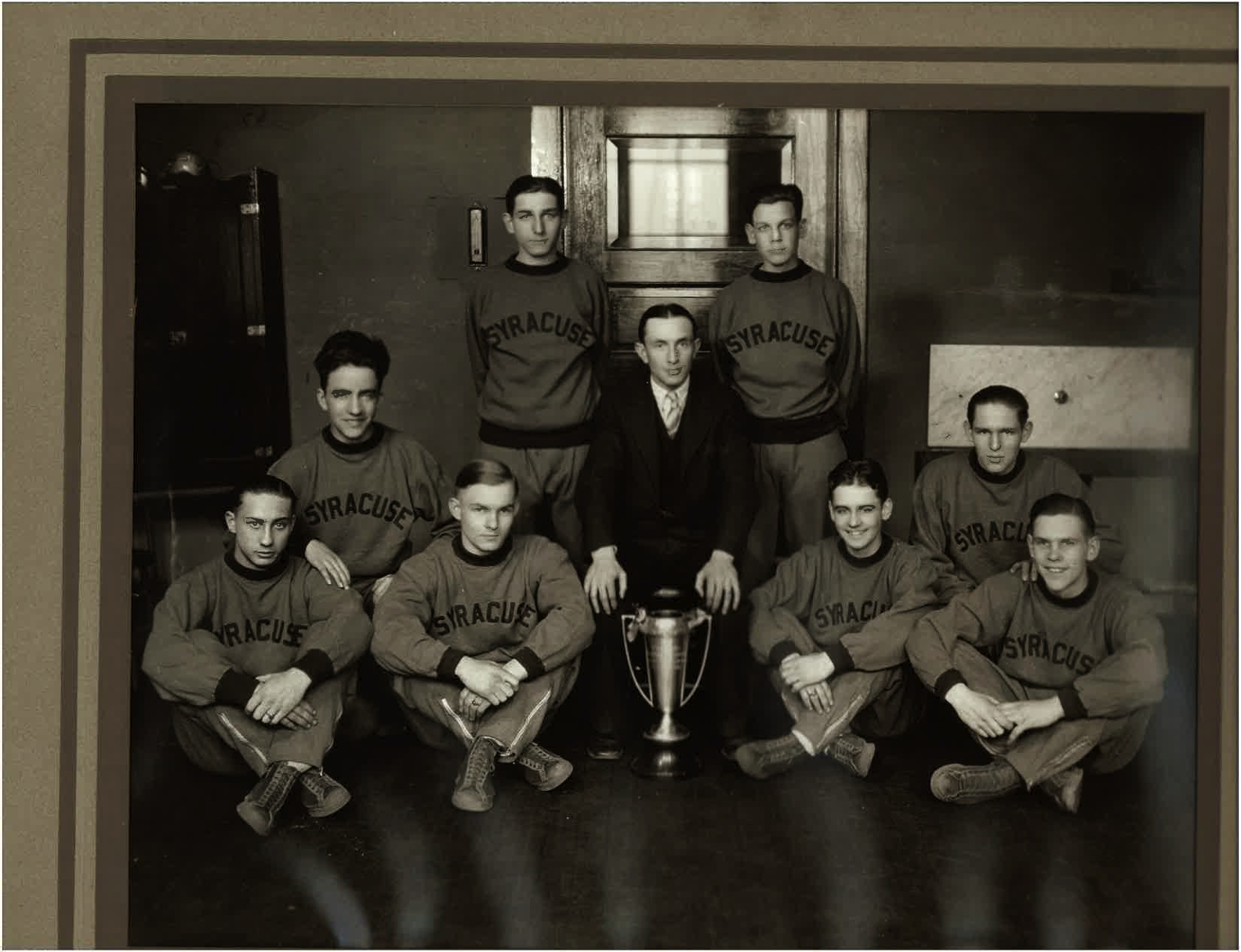 1928 Syracuse High School basketball team