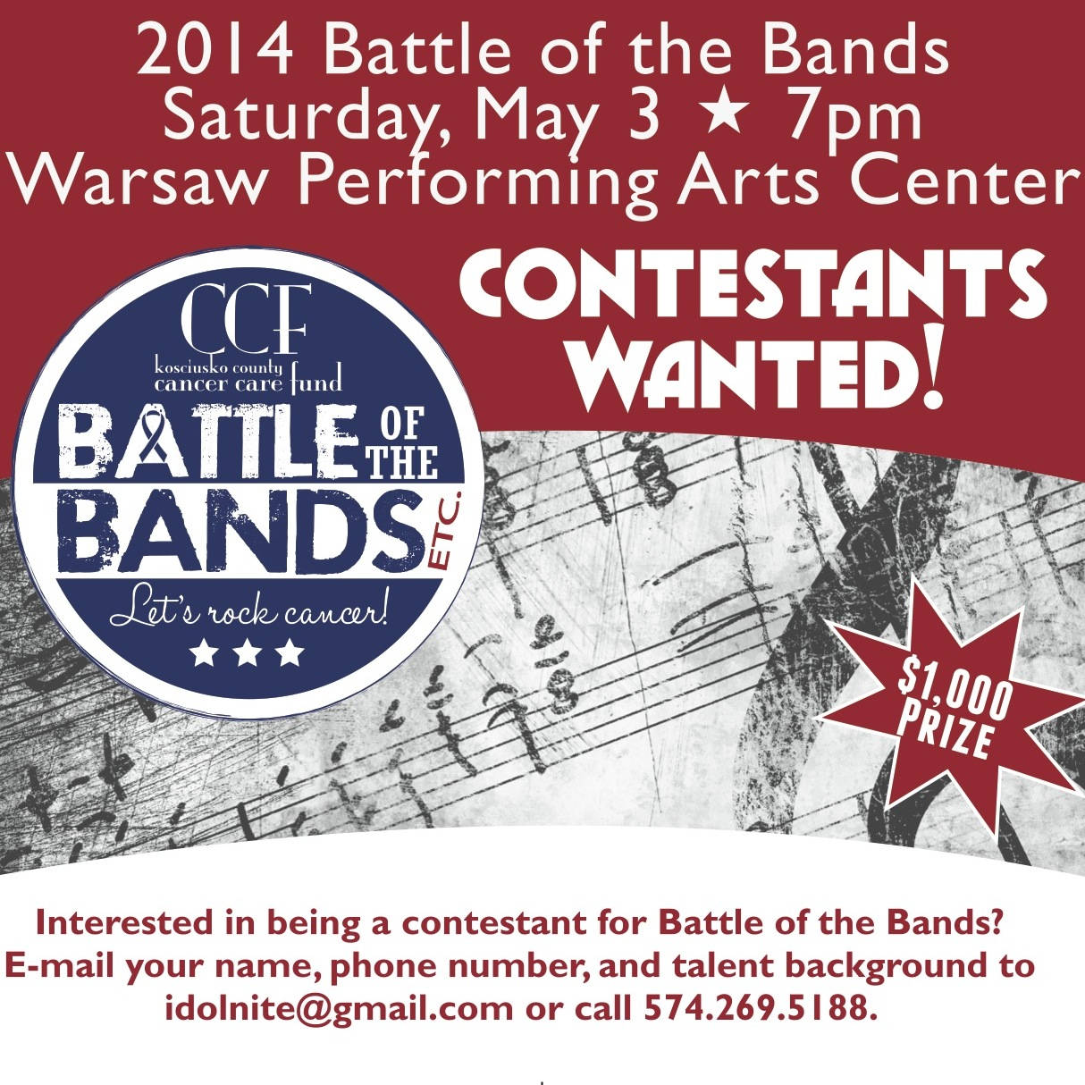 Battle Of The Bands CCF