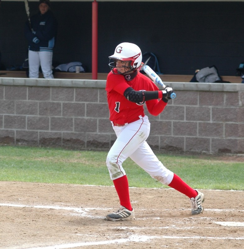 Grace College outfielder Brooke Shell is the Crossroads Player of the Week (Photo provided by Grace College Sports Information Department)