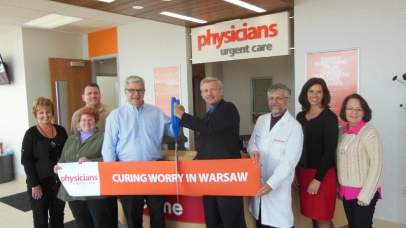 Physicians Urgent Care-Warsaw
