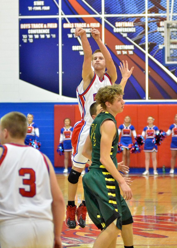 The sharp-shooting Whitko freshman Nate Walpole will need to step up big for the Wildcats in the sectional tournament. Walpole averages 14 points per game for the Wildcats. (File photo by Nick Goralczyk)