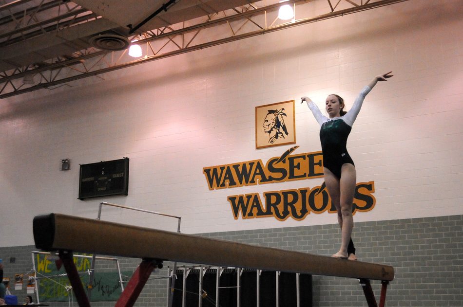 Wawasee's Emily Allen will be amongst the contenders at the Wawasee Sectional this Saturday. (Photos by Mike Deak)