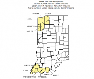 indiana time zone