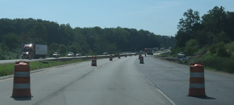 This section of U.S. 30 in Warsaw was under construction last summer when INDOT was preparing the highway for the new Meijer store. INDOT says it will now look to study even more options to improve traffic conditions from Warsaw to Fort Wayne. (File photo)