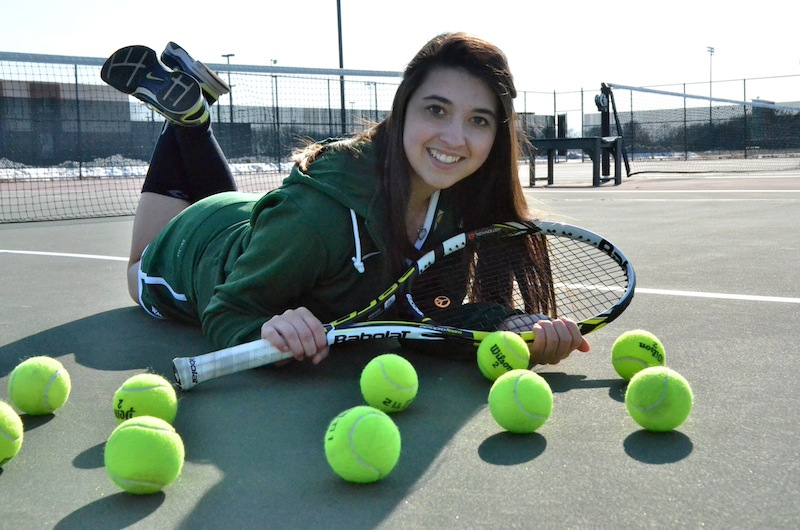 Jada Antonides is one of seven juniors helping to lay a foundation of success for Wawasee in 2014. (Photo by Nick Goralczyk)