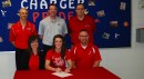 West Noble High School senior Kelsie Peterson will play basketball at Grace College (Photo provided)
