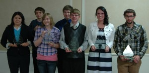 Warsaw Rotary Club 2014 Self-Reliance Award Winners