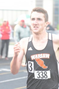 Ellis Coon won two events for champion Warsaw.