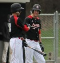 Jacob Bloom (left) and Joey Hickerson, both WCHS graduates, earned all-conference honors for the Grace College baseball team (Photo provided by Grace College Sports Information Department)