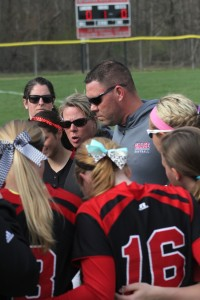 Grace College softball coach Heather Johnson, a former star player for the Lancers, has done an outstanding job this season.
