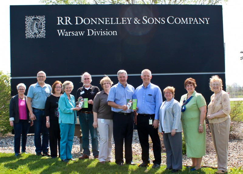 RR Donnelley Mayor Sculpture Committee 05-08-14