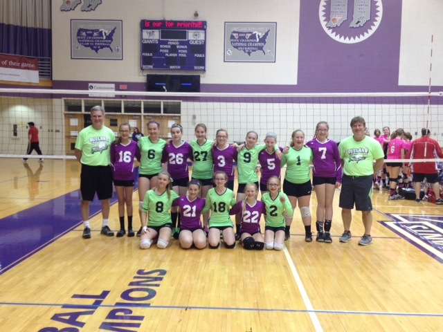 Two teams from the Outland Volleyball Club in Warsaw had fine performances in a tourney in Indianapolis (Photo provided)
