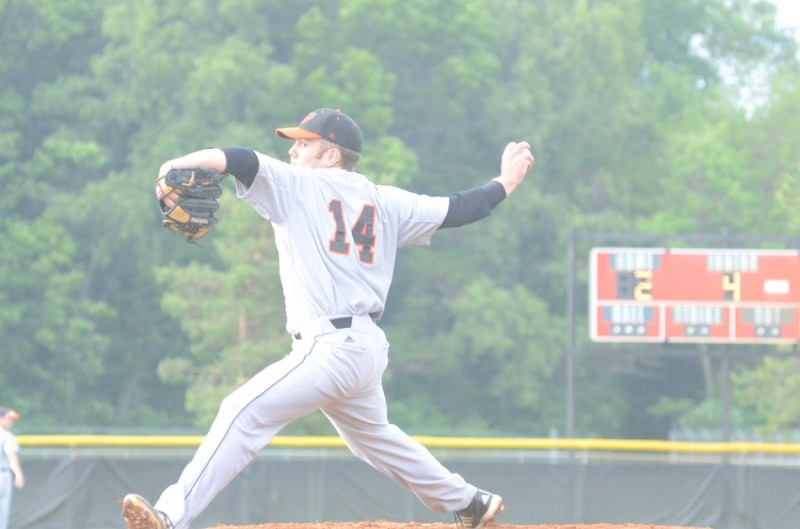 Junior Tyler LaFollette pitched an outstanding game for Warsaw in a 2-1 loss Monday night to Concord in the sectional final.