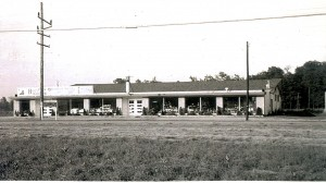 This provided photo shows the former Hoosier Skateland likely sometime in the 1950s. It later became the American Legion building.