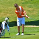Jonny Hollar shot a 74 to help his team advance to the regional round. (Photos by Nick Goralczyk)