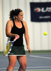 Wawasee No. 1 tennis player Katy Ashpole