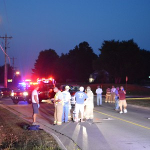 winona lake bike vs truck 7/21/14