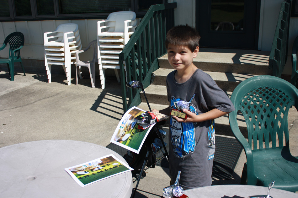 Connor Lake was the Grand Champion of the Warsaw Parks and Recreation Summer Junior Golf Tour for his age division.