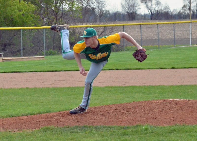 Tanner will be trading in his green and bright gold jersey for a black and old gold one the next time he takes the field. (File photo by Nick Goralczyk)