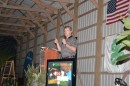 Lance Woodbury served as the keynote speaker for Tom Farms' annual appreciation dinner, Thursday. He spoke about estate planning and mediation as it pertains to the family farm.