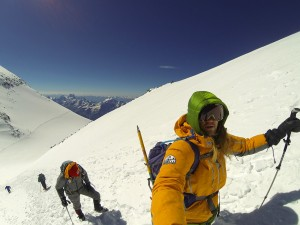 The MTJM crew scaling Mt. Elbrus.