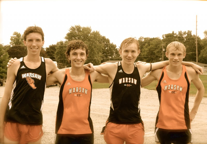 Warsaw will look to a returning  quartet from its State Finals team last year to lead the way. Back for the Tigers (from left) are Nick Bergen, Jonathan Beres, Daniel Messenger and Owen Glogovsky.