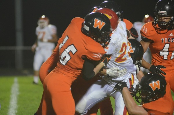 The Warsaw defense dominated in pitching a shutout over Elkhart Memorial Friday night.