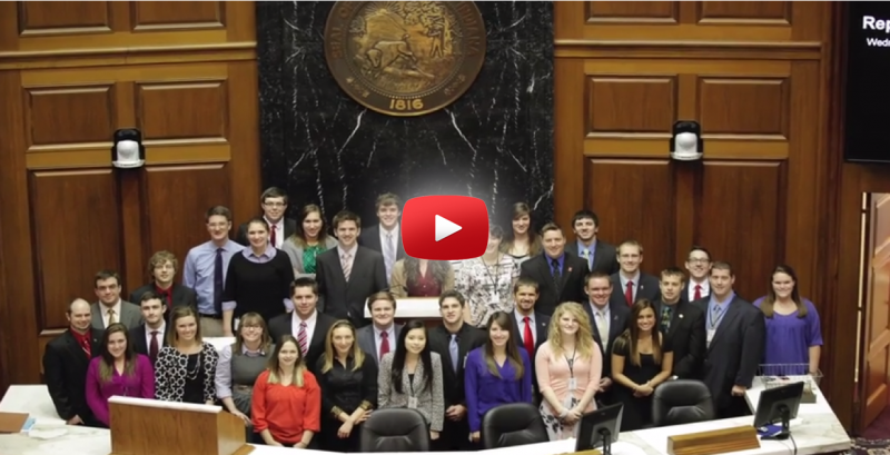 Intern At 2015 Legislative Session