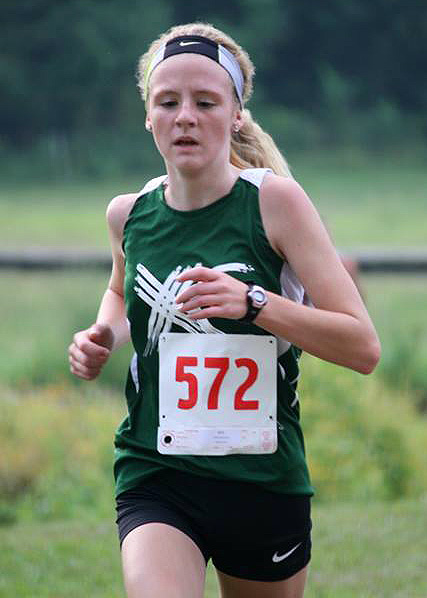 Wawasee middle school cross country runner McKenzie Smith was the individual champion at the Wawasee Invitational.