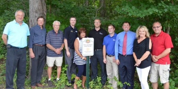 From left are Henry DeJulia, Bob Smith, Charlie Harris, Bryan Zehr, Kimberly Cates, Erick Leffler, Aaron Apple, Cameron Plew, Susan Littlefield and Dave Colquitt.