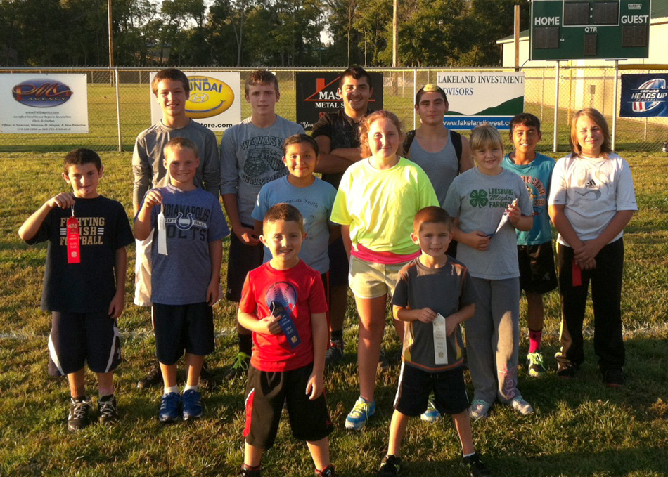 The national 2014 NFL Punt, Pass & Kick competition was held locally Sept. 17 in Syracuse. (Photo provided)